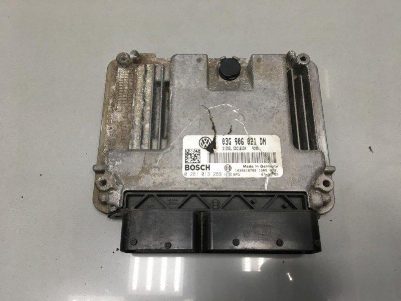 Блок управления двигателем Skoda Octavia A5 1 2006 (б/у)