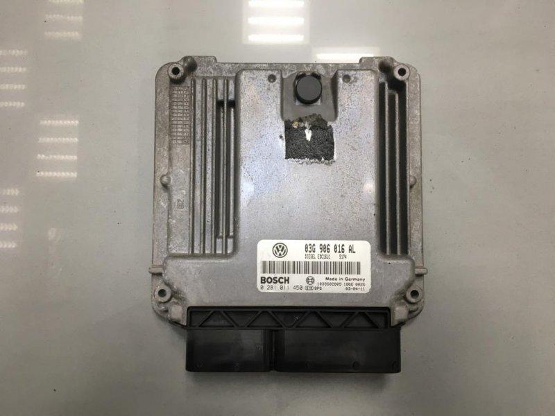 Блок управления двигателем Volkswagen Touran AZV 2.0 ДИЗЕЛЬ 2003 (б/у)