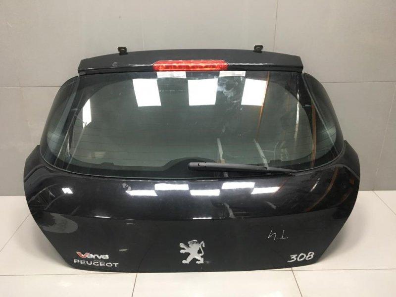 Крышка багажника Peugeot 308 1 2009 (б/у)
