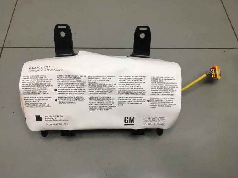Подушка безопасности пассажира Opel Meriva B 1 2010 (б/у)