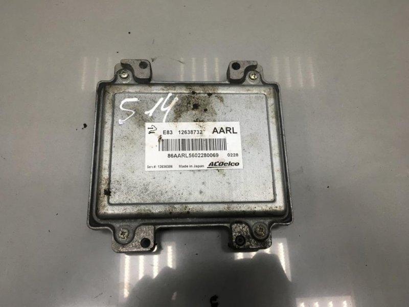 Блок управления двигателем Opel Meriva B 1 2010 (б/у)