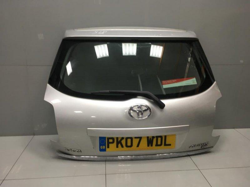 Крышка багажника Toyota Auris 1 2007 (б/у)