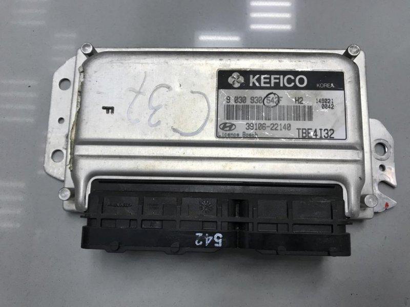 Блок управления двигателем Hyundai Getz (б/у)
