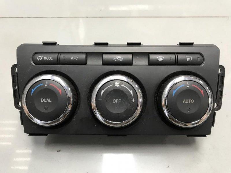 Блок управления печкой климатом Mazda 6 Gh (б/у)