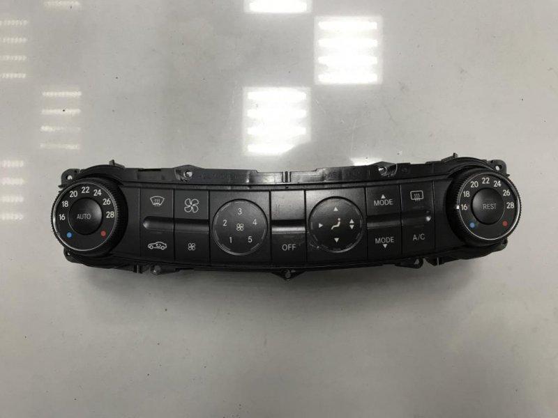 Блок управления печкой климатом Mercedes E Class W211 3.0 2006 (б/у)
