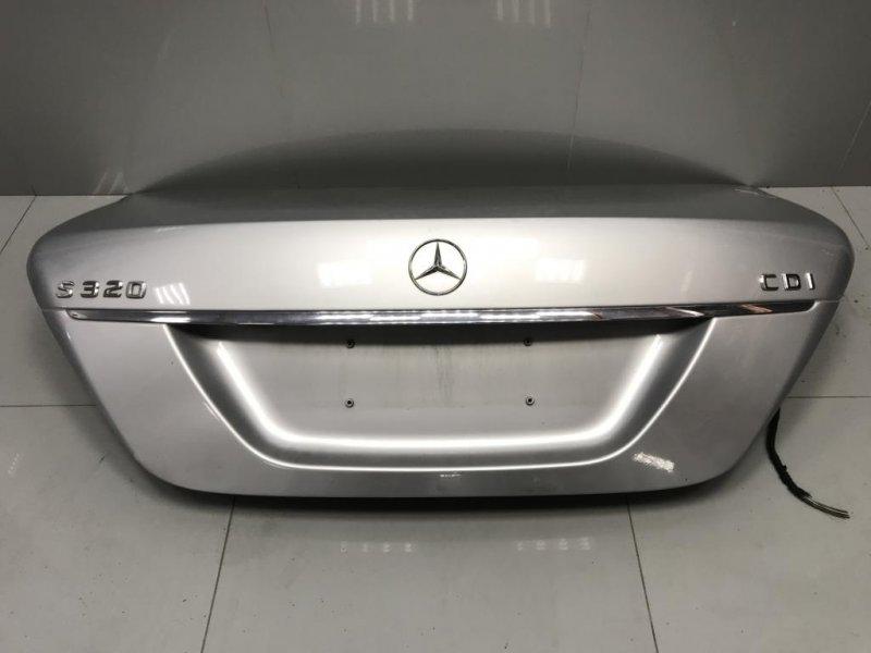 Крышка багажника Mercedes S Class W221 2005-2013 3.0 TDI 2007 (б/у)