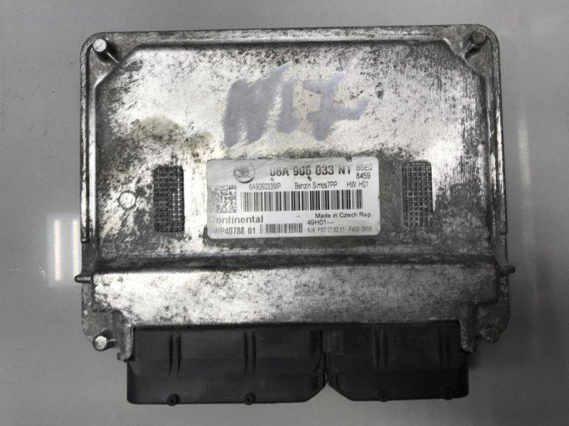 Блок управления двигателем Skoda Octavia A5 1 2011 (б/у)