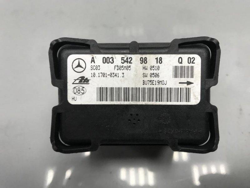 Датчик ускорения Mercedes C Class C203 (б/у)