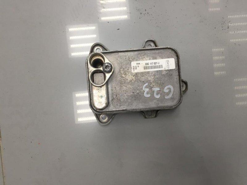 Радиатор масляный Skoda Octavia A5 1Z 1 2011 (б/у)
