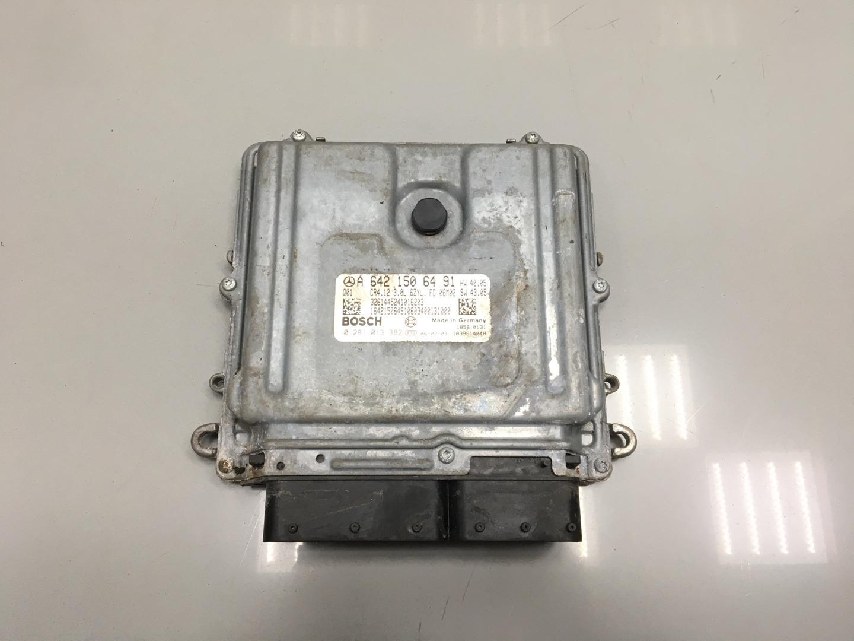 Блок управления двигателем Mercedes Ml Class W164 OM 642.940 2006 (б/у)