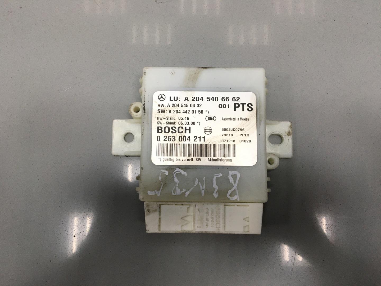 Блок управления парктрониками Mercedes C Class W204 OM 646.811 2008 (б/у)