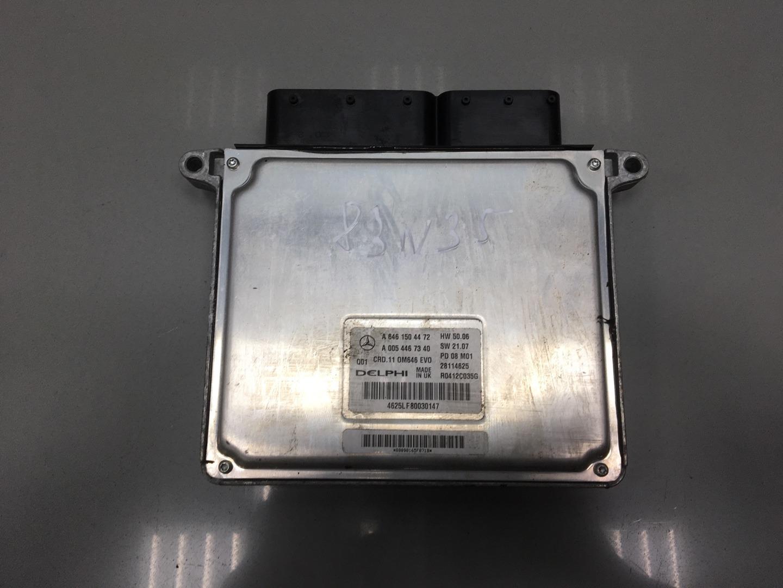 Блок управления двигателем Mercedes C Class W204 OM 646.811 2008 (б/у)