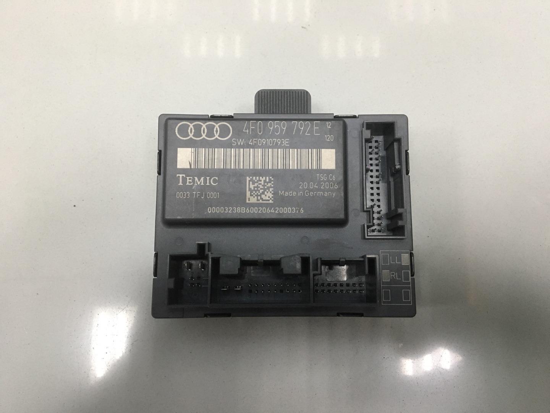Блок комфорта Audi A6 C6 BPJ 2006 передний правый (б/у)