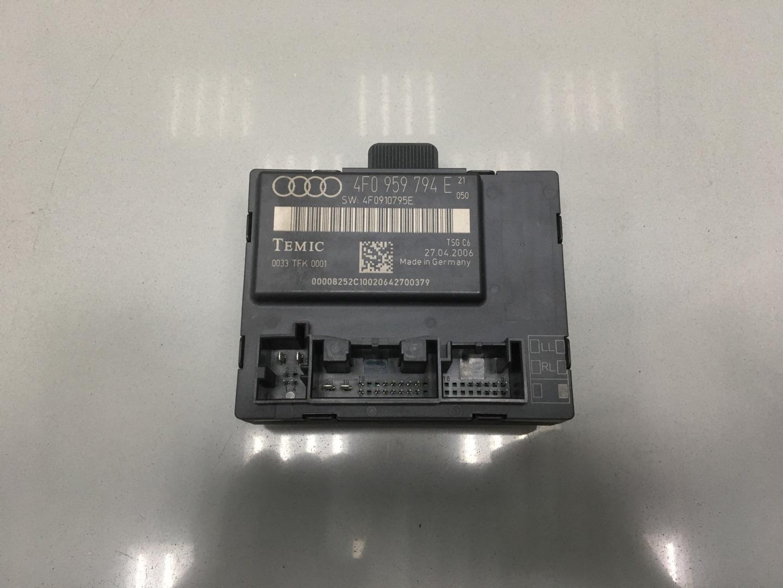 Блок комфорта Audi A6 C6 BPJ 2006 задний правый (б/у)
