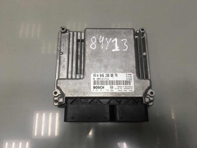 Блок управления двигателем Mercedes C Class W203 OM 646.962 2005 (б/у)