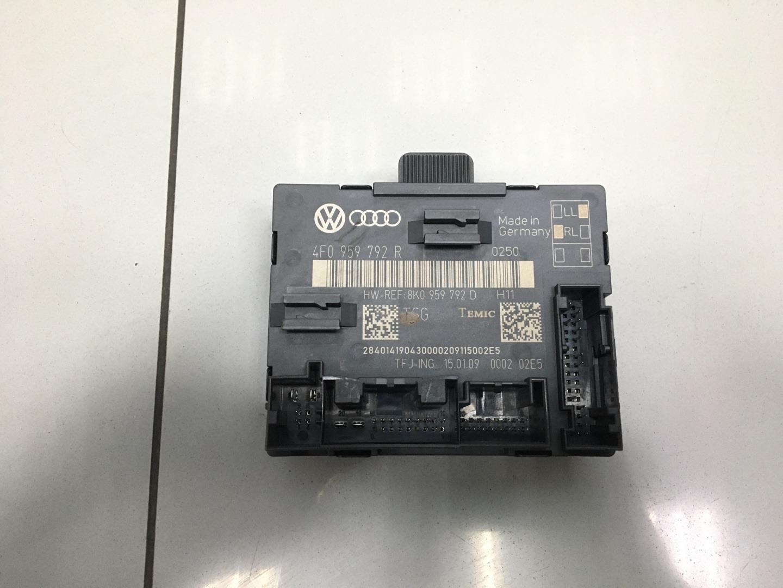 Блок комфорта Audi A6 C6 CAGB 2009 передний правый (б/у)