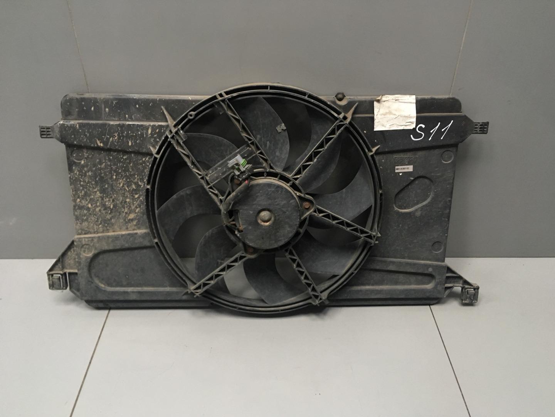 Вентилятор радиатора Ford Focus SHDA 2008 (б/у)