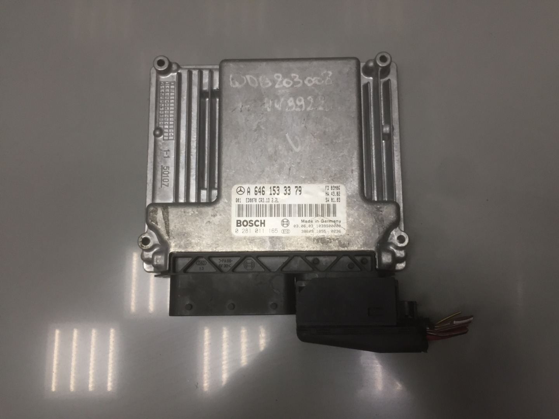 Блок управления двигателем Mercedes C Class W203 646.963 2003 (б/у)