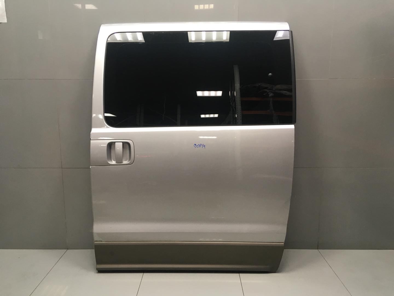 Дверь сдвижная Hyundai Starex H1 D4CB 2008 задняя левая (б/у)