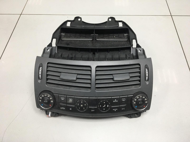Блок управления печкой климатом Mercedes E Class W211 (б/у)