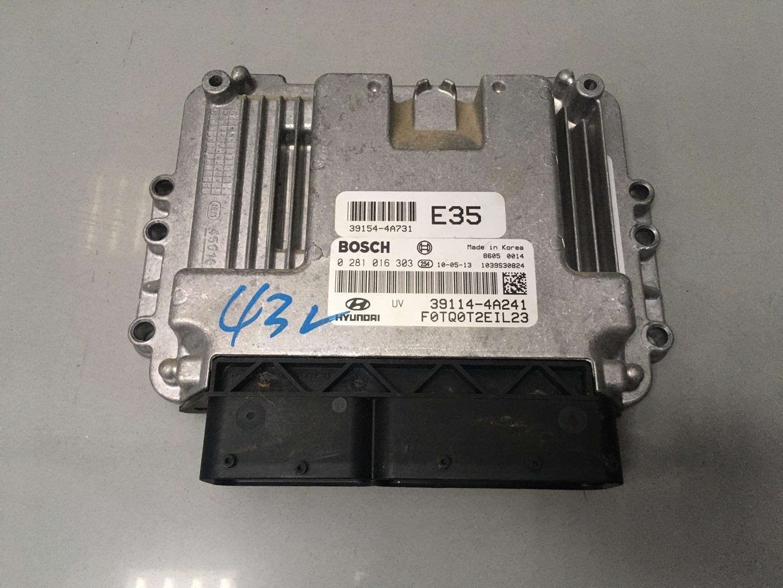Блок управления двигателем Hyundai Starex H1 D4CB 2010 (б/у)