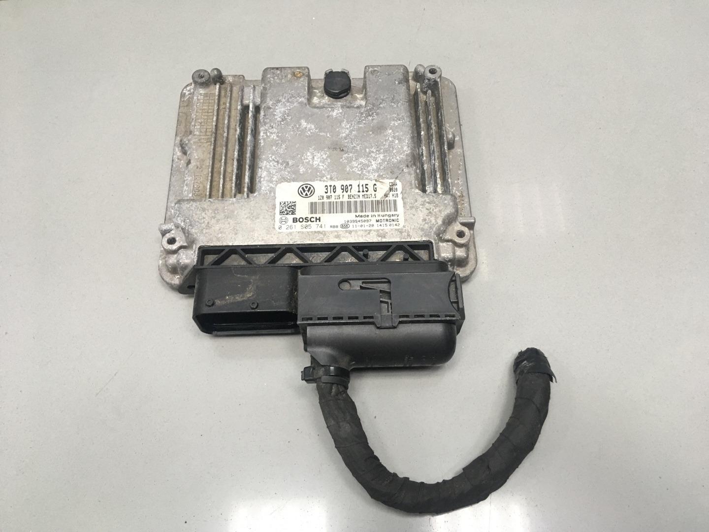Блок управления двигателем Skoda Octavia A5 CDAA 2011 (б/у)