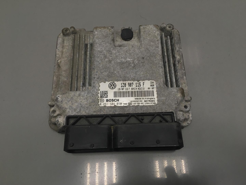 Блок управления двигателем Skoda Octavia A5 CDAA 2010 (б/у)