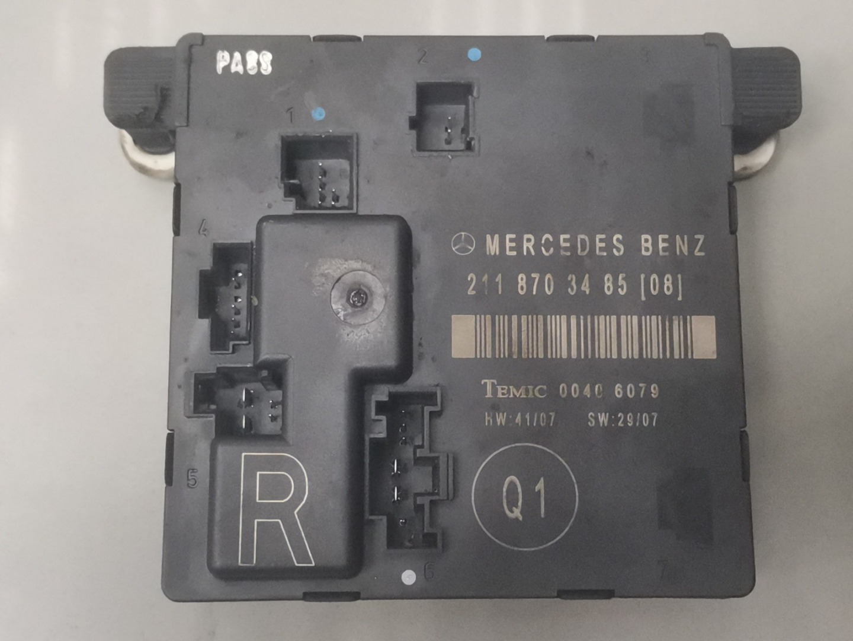 Блок комфорта Mercedes E Class W211 642.920 2009 задний правый (б/у)