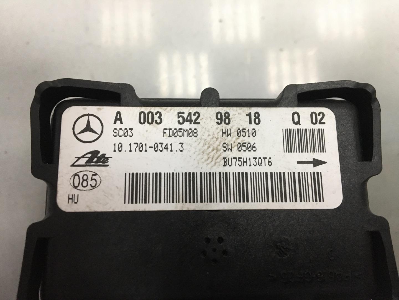 Датчик ускорения Mercedes C Class W203 646.963 2005 (б/у)