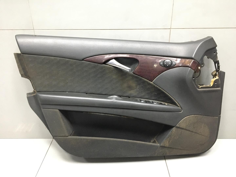Обшивка двери Mercedes E Class W211 646.951 2003 передняя левая (б/у)