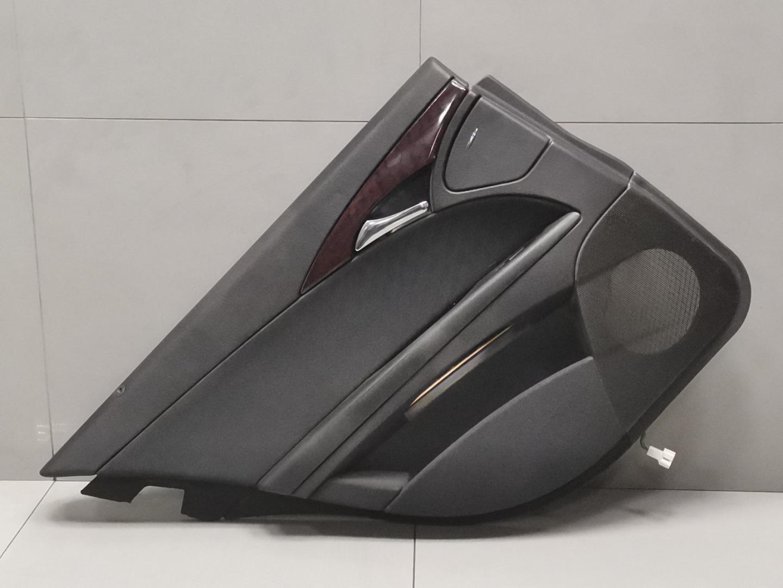 Обшивка двери Mercedes E Class W211 646.951 2003 задняя левая (б/у)