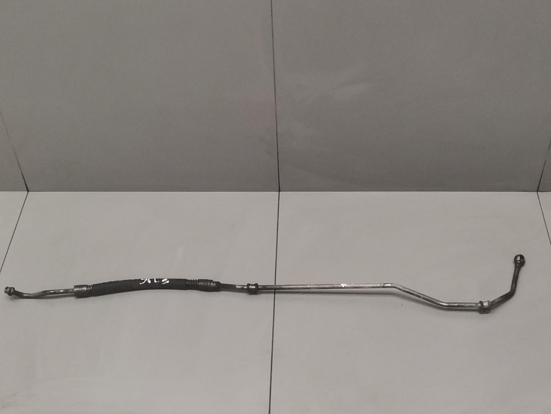 Трубка системы охлаждения акпп Mercedes E Class W211 646.951 2003 правая (б/у)