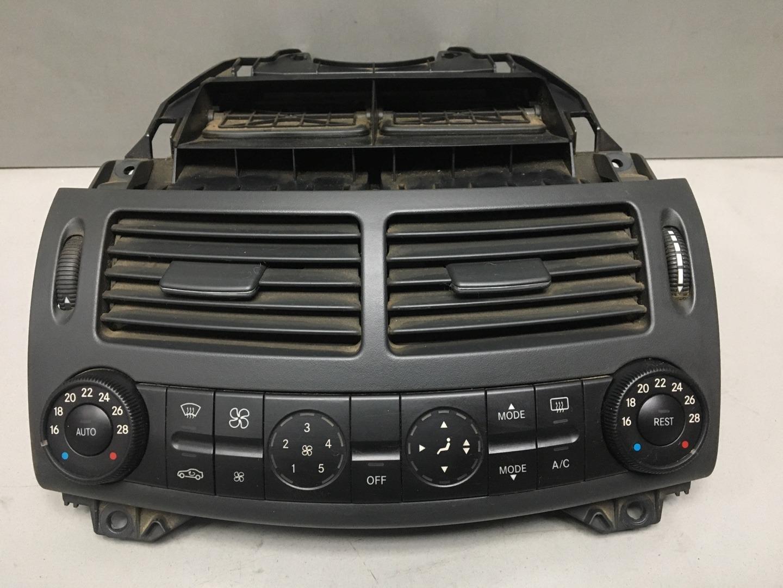 Блок управления печкой климатом Mercedes E Class W211 646.951 2003 (б/у)