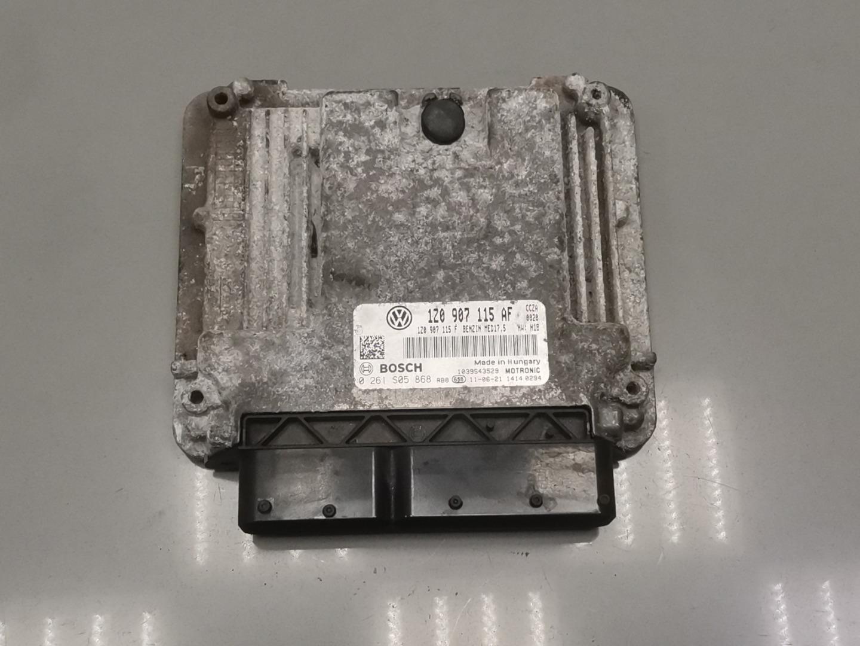 Блок управления двигателем Skoda Octavia A5 CCZA 2011 (б/у)