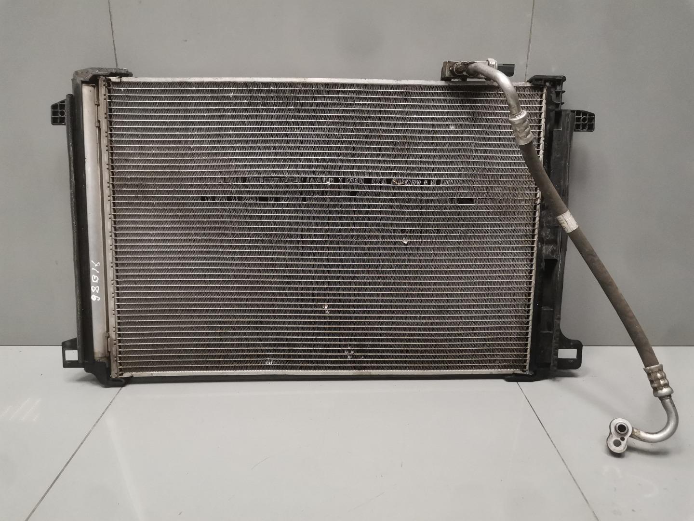 Радиатор кондиционера Mercedes C Class W204 651.911 2013 (б/у)