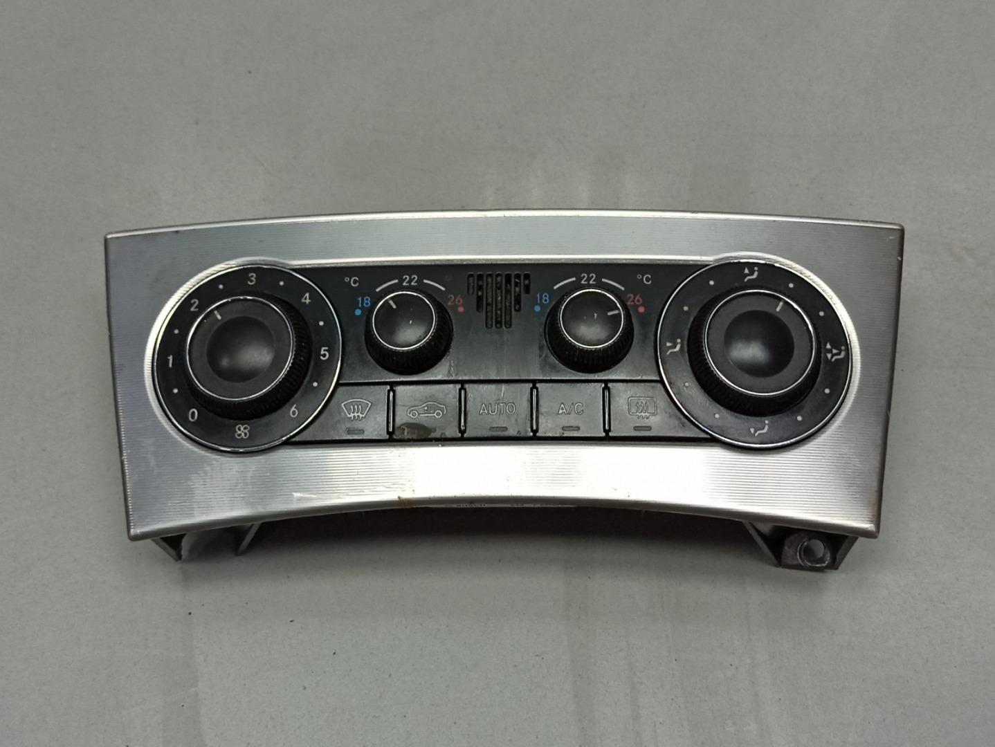 Блок управления печкой климатом Mercedes C Class W203 646.963 2007 (б/у)