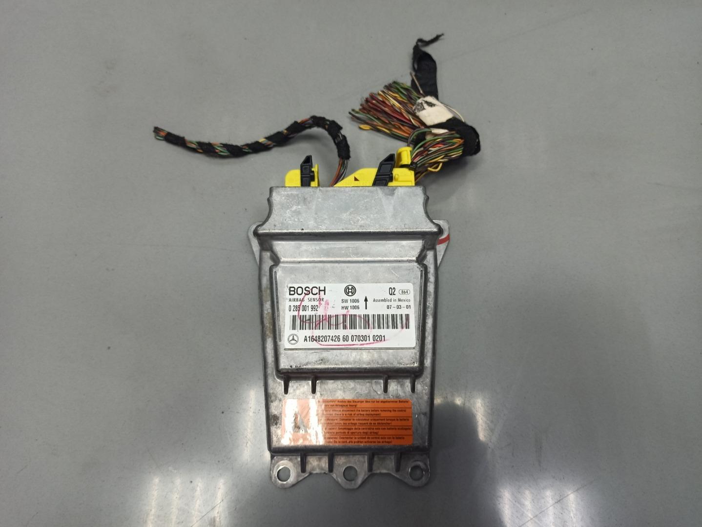 Блок управления air bag Mercedes Gl Class X164 273.923 2007 (б/у)