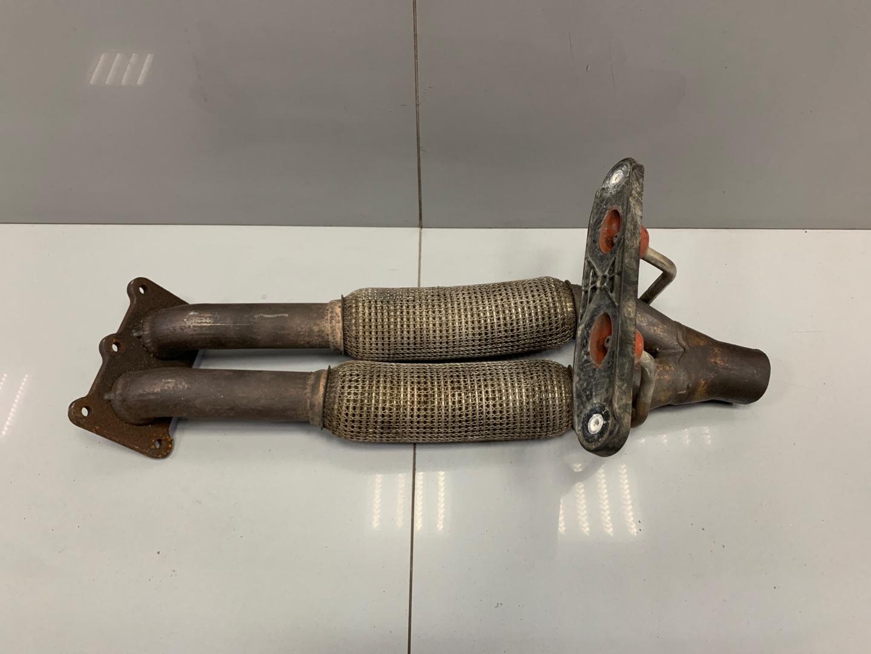 Приемная труба глушителя Skoda Octavia A5 BSE 2010 (б/у)