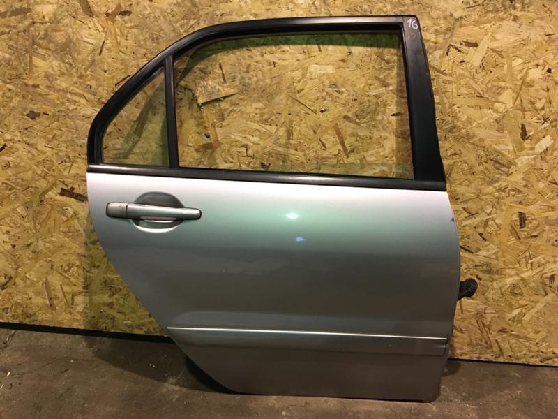 Дверь Mitsubishi Lancer 9 CS 4G18 2007 задняя правая (б/у)