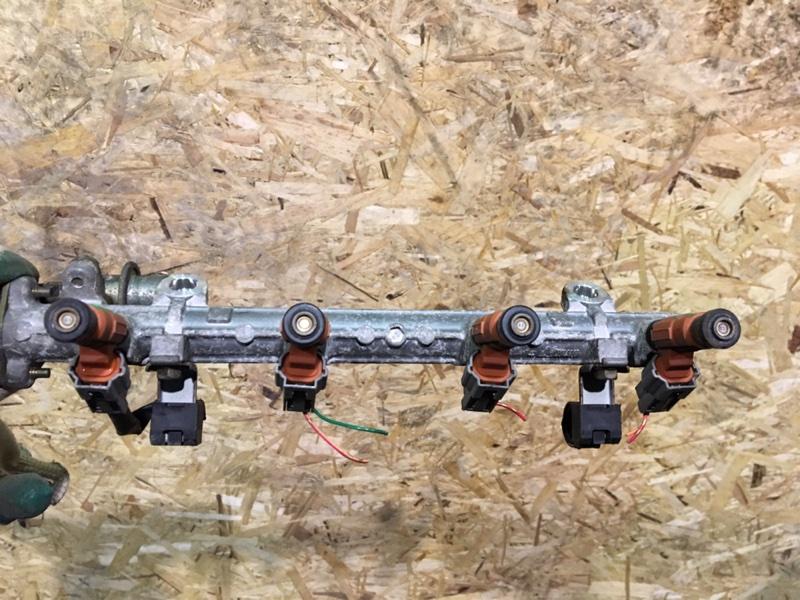 Форсунки с рампой комплект Mitsubishi Lancer 9 CS 4G18 2005 (б/у)