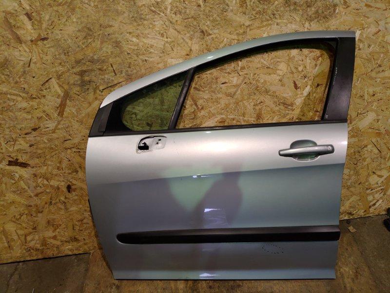Дверь Peugeot 308 Т7 EP6 2009 передняя левая (б/у)