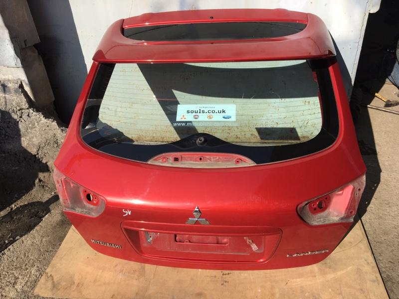 Дверь багажника Mitsubishi Lancer 10 CY 4A91 2011 (б/у)