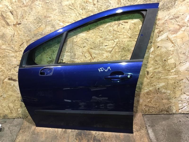 Дверь Peugeot 308 передняя левая (б/у)