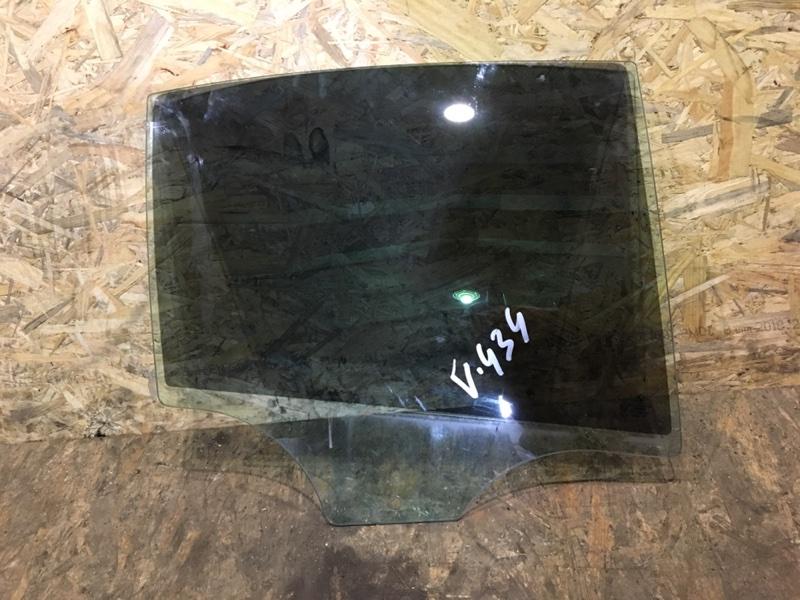 Стекло двери Bmw 528Ix F10 N20B20A 2013 заднее правое (б/у)