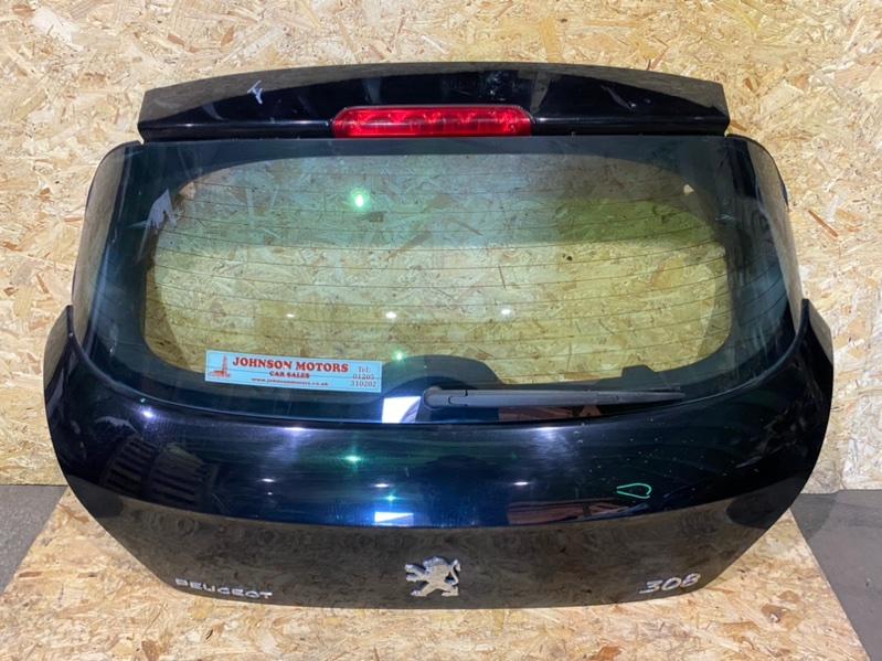 Дверь багажника Peugeot 308 Т7 EP6 2008 задняя (б/у)