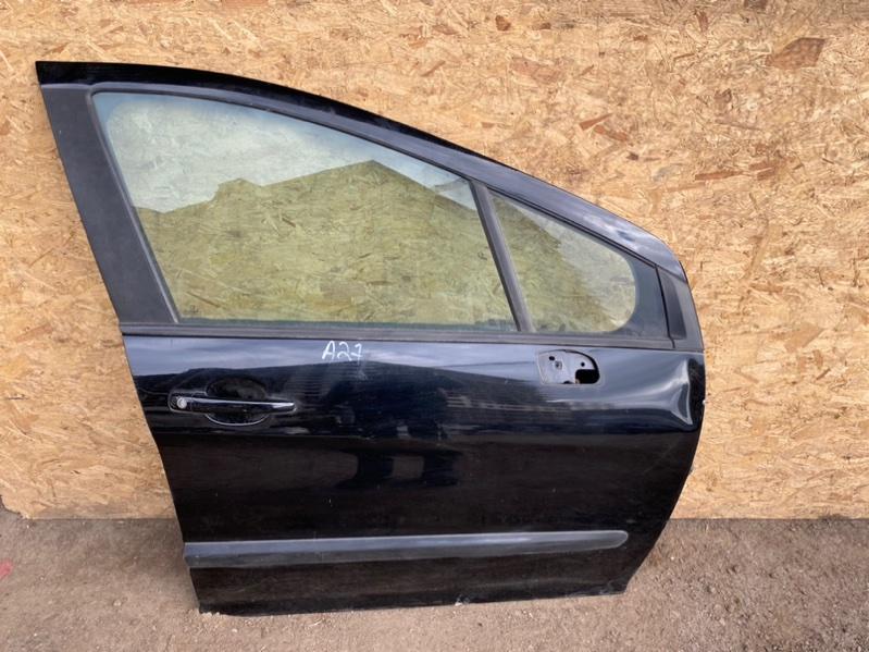 Дверь Peugeot 308 Т7 EP6 2009 передняя правая (б/у)