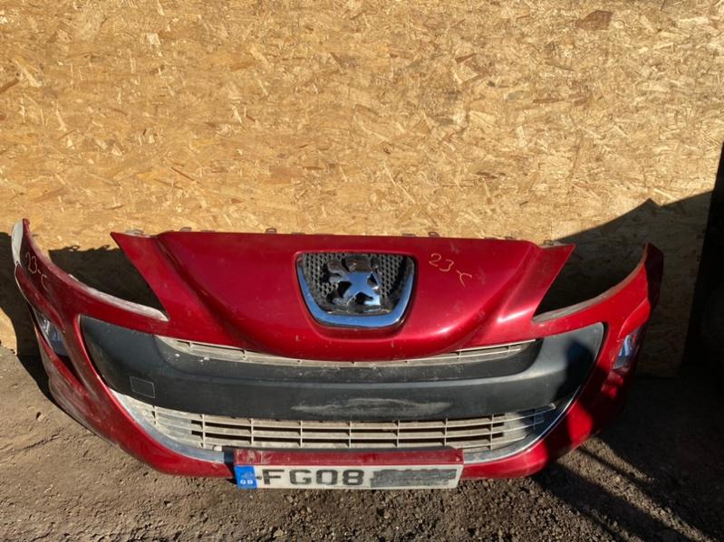 Бампер Peugeot 308 Т7 EP6 2007 передний (б/у)