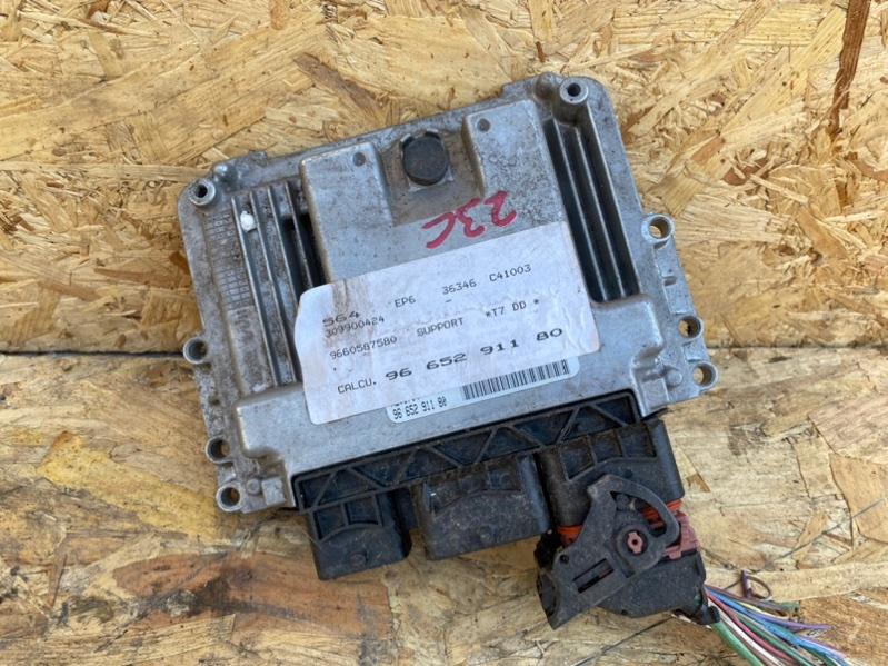 Блок управления двигателем Peugeot 308 Т7 EP6 2008 (б/у)
