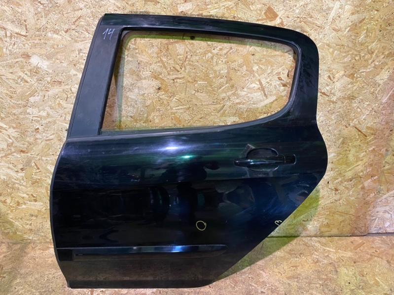 Дверь Peugeot 308 Т7 EP6 2008 задняя левая (б/у)