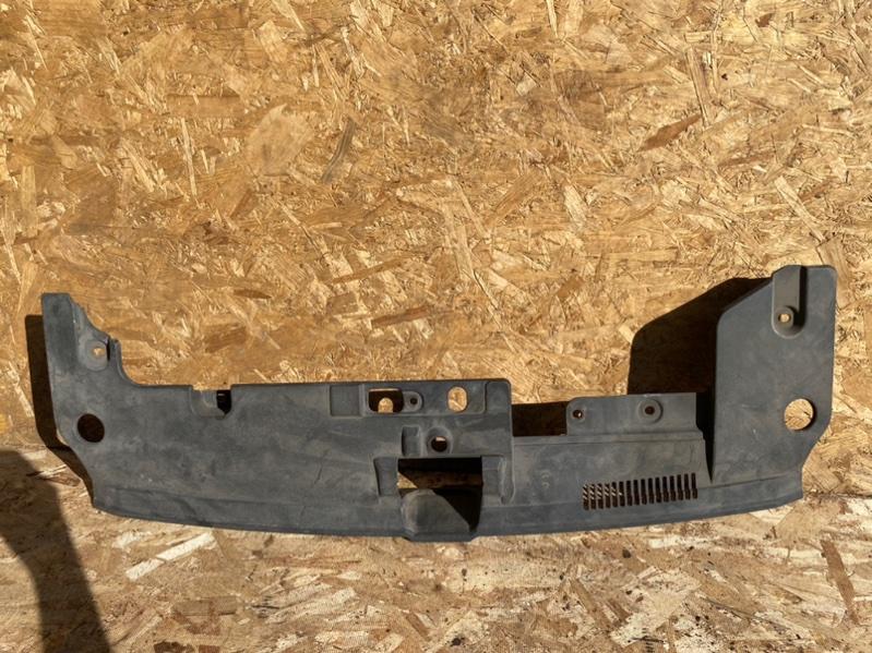 Накладка замка капота Mitsubishi Lancer 10 CY 4B12 2013 передняя верхняя (б/у)